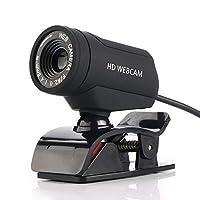 LYX USBコンピュータカメラ、ノートパソコンのHDカメラ、マイク有線カメラ (Color : A7220D)