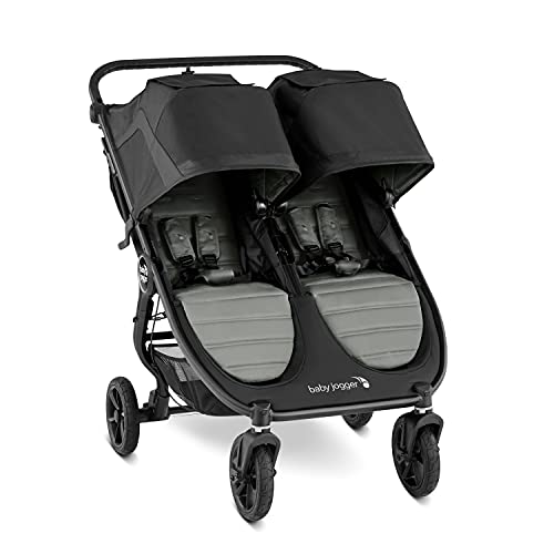 Baby Jogger City Mini GT2 All-Terrain Double Stroller, Slate , 40.7x29.25x42.25 Inch (Pack of 1)
