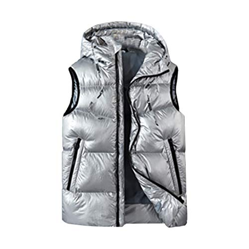 Great Price! Dainzuy Heating Electric Vest Heated Jacket Cold-Proof Heating Clothes Washable Warm Pa...