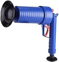 Toilet Plunger Air Drain Blaster Pressure Pump Cleaner High Pressure Plunger Opener Cleaner Pump for Bath Toilets Bathroom...
