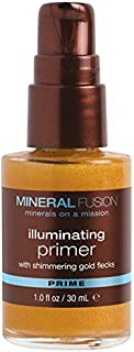 MINERAL FUSION Illuminating primer with shimmering gold flecks by mineral fusion, 1 oz, 1 Ounce