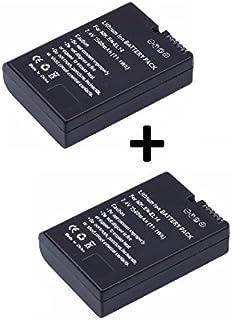 Theoutlettablet® 2 x Batería reemplazo EN-EL14 para Camara Reflex Nikon d5300 d5200 d5100 d3400 d3300 d3200 d3100 p7100 p7700 p7800 P7001 (Pack 2 Unidades)
