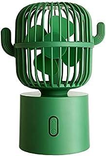 Ventiladores eléctricos Cactus puede sacudir de cargador portátil ultra-silencioso Oficina de Estudiantes compartida de Escritorio mano pequeño viento grande de escritorio del coche del ventilador elé