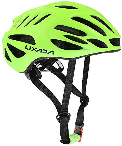 Lzpff Fahrradhelm, Fahrradhelm Mountainbike Helm 32 Vents Fahrradhelm Leichte Sport-Sicherheits-Schutzcomfortable Adjustable Helm for Männer/Frauen (Color : Yellow)