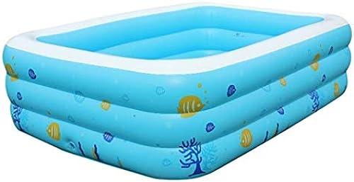 Miya Hauptswimmingpool Der Kinder - Baby-aufblasbare Badewanne, Garten-Baby-Wasser Der Kinder Im Freien Spielt Planschbecken (Größe   150  110cm)