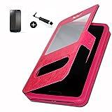 ZUK Z1Super Premuim Case Windows Phone Case Fuchsia PU +
