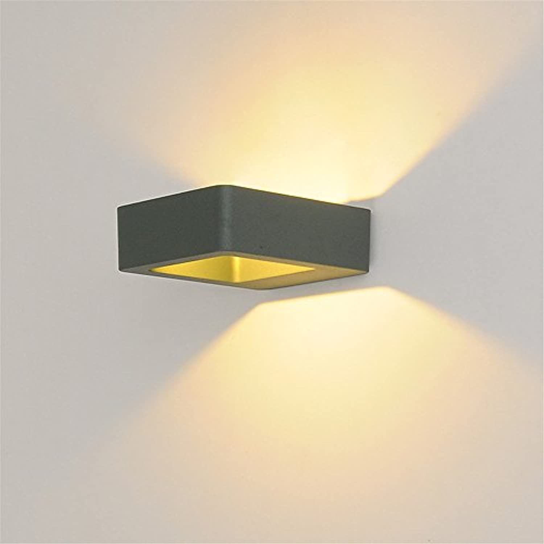 Modern LED Wandleuchte LED wandleuchte schlafzimmer nachttischlampe innen und auen wandleuchte kreative wohnzimmer gang lampe outdoor led8WL145  W120  H45mmHaus, Bar, Restaurants.