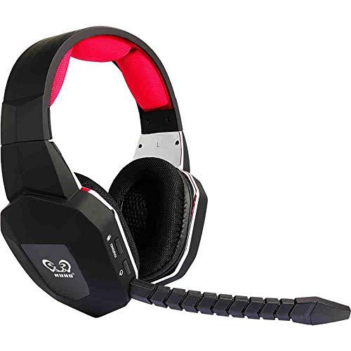 HAMSWAN® Kabelloses Gaming-Headset für Xbox 360/Xbox One/PS 3/PS4mit abnehmbaren Mikrofon, 2,4GHz, USB 2.0,Akku (Ein Microsoft-Adapter oder Kinect wird für die Verwendung mit der Xbox One benötigt)