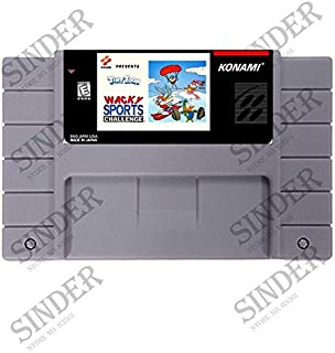 Tiny Toon Adventures Wacky Sports Challenge Good Quality 16 Bit Big Gray Game Card For Ntsc Game Player