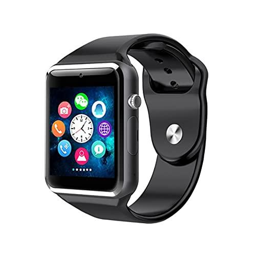 JYZ Smartwatch, 1.44' Táctil Completa Reloj Inteligente Mujer Hombre,Pulsera Actividad Inteligente con Podómetro,Smartwatch con SIM,Monitor de Sueño,Regalos para niños de 6 a 14 años