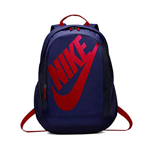 Nike Nk Hayward Futura Bkpk-Solid Backpack, Unisex Adulto, Blue Void University Red, Talla Única