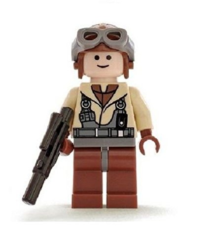 LEGO Minifigura piloto de combate de Star Wars Naboo