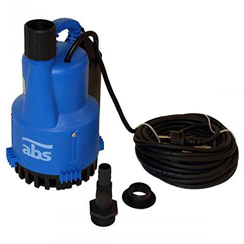 ABS Robusta 200 WTS Schmutz- und Tauwasserpumpe für Bad & WC mit gut geschütztem Wasserstandshalter