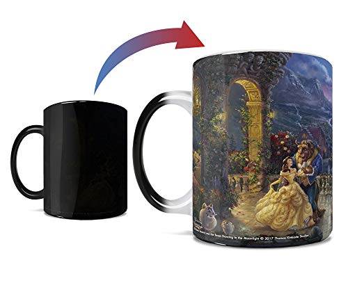 Beauty and The Beast Dancing Morphing Mugs