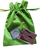 Irish Turf Peat Incense Burner with 6 Mini Sods in a Scent of Ireland Drawstring Gift Bag