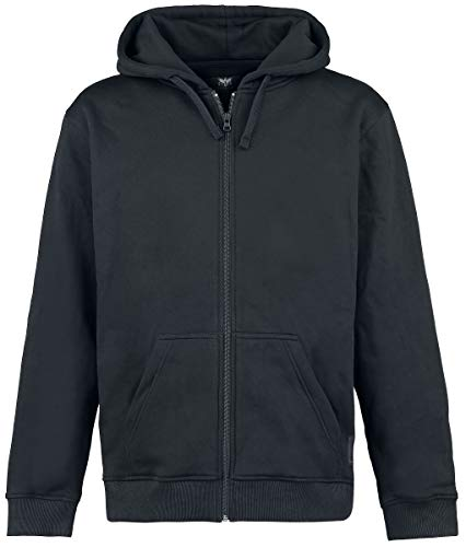 Black Premium by EMP Mask Of Sanity Homme Sweat-shirt zippé à capuche noir L