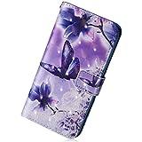 Carcasa para Samsung Galaxy J52016piel de purpurina, hierbas