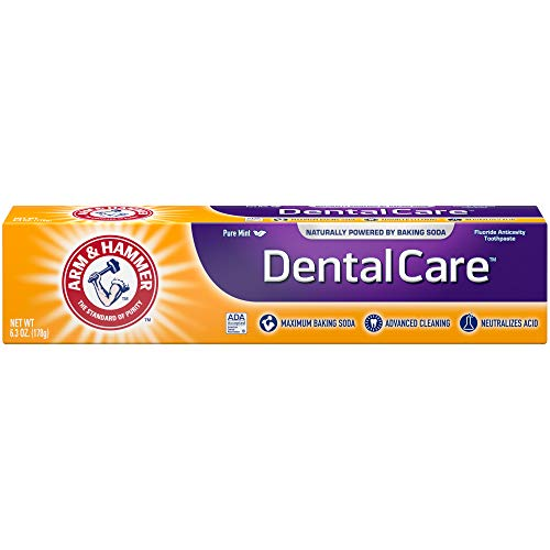 Arm & Hammer Dental Care Toothpaste, 6.3 oz (Pack of 6)