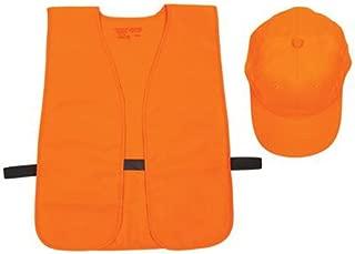 Allen Company Orange Hunter's Vest and Hat Combo