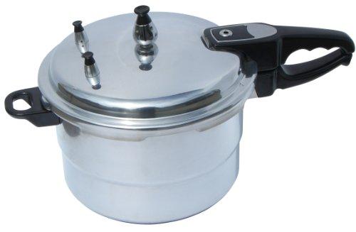 Benecasa Aluminum Pressure Cooker, 4.2-Quart