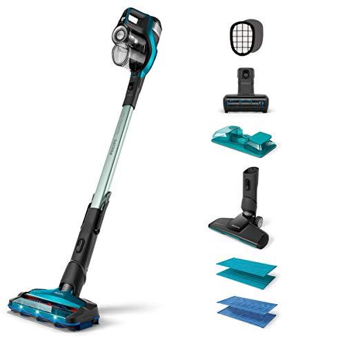 Philips FC6904/01 aspiradora de pie y escoba eléctrica Sin bolsa Color aguamarina...