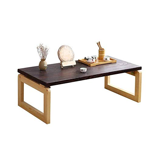 Coffee Center Table Solid Wood Coffee Tea Sofa Side Table writing simple desk Laptop Tray Desk TV Tray Floor Table Bamboo Breakfast