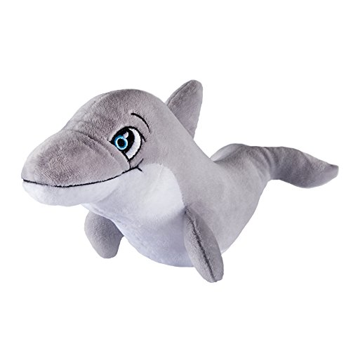Fin Fun Bubbles The Dolphin Stuffed Animal Plush Toy - Mermaidens FinFriend