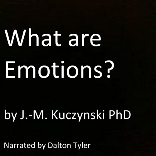 What Are Emotions? audiobook cover art