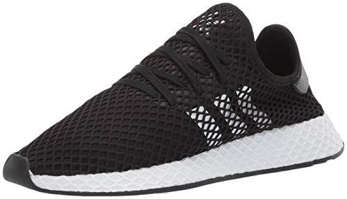 adidas Originals Deerupt Runner Herren, Schwarz (schwarz/weiß/schwarz), 46 EU