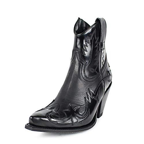 Sendra Boots 16695 Gorca Flora Negro Nobuck Negro 36