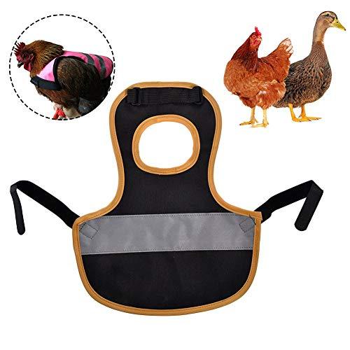 Letway Haustierweste, Geflügelbekleidung, Hühner- und Entenschürze, Federschutzrahmen, Sicherheit gegen Bestien, um Verluste zu reduzieren Fitting