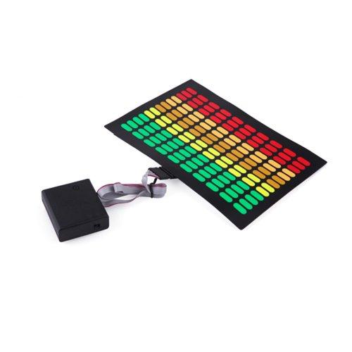HDE Sound-Activated Rave LED Panel w/Sensor Module - Equalizer