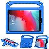 GOZOPO Custodia Bambini Compatibile con iPad Mini 5/ Mini 4/ Mini 3/ Mini 2, Custodia con Cavalletto Resistente Antiurto Leggera (Blu)