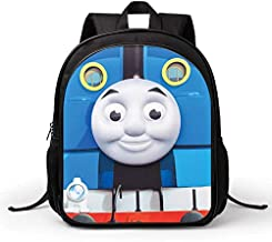 Children's bags Cartoon Thomas train head 3D Backpack Protect the back of the spine