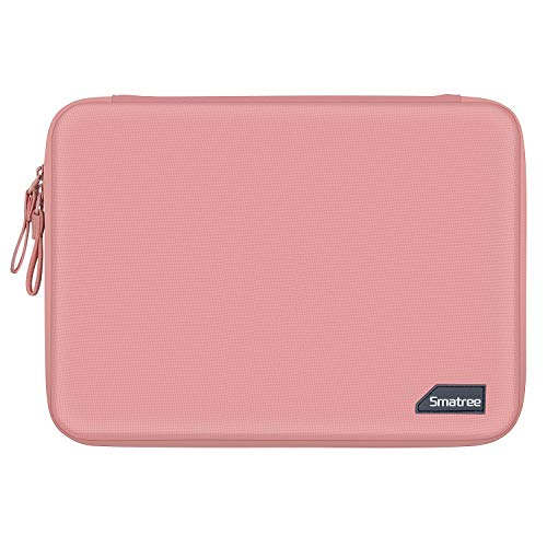 Smatree Hard Shell Laptop Retina Display Sleeve Protective Bag for Macbook 12 Inch/Air 13 Inch/Pro 2019 13.3 Inch, Surface Go/Surface Pro 6 Pink