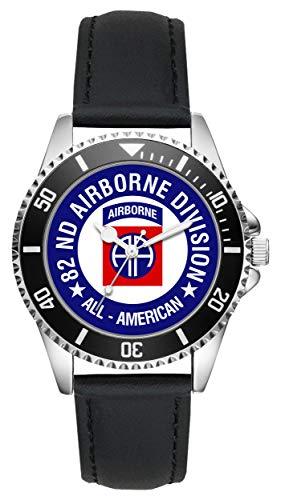 KIESENBERG - Geschenk US Army Veteran Military Soldat 82nd Airborne Division Uhr L-6502