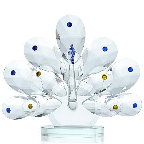 buenos comparativa Decoración decorativa de pavo real en una boutique de Londres con cristales Swarovski, 7506 (cantidad 1… y opiniones de 2021