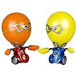 Silverlit 88039 YCOO-Robo Kombat Ballon Puncher (rot ferngesteuerte Fahrzeuge-großer Spaßfaktor-mit coolen Ton-und Lichteffekten-ab 5 Jahren, Gelb/Orange