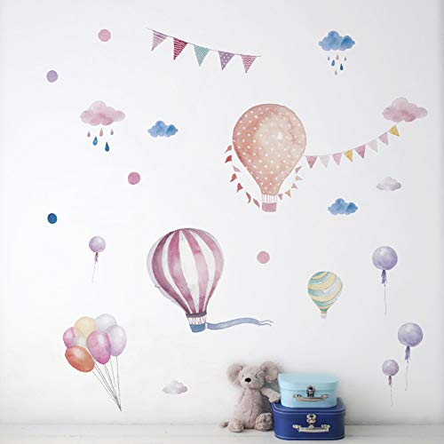 Preisvergleich Produktbild JQFEN Wandaufkleber Kinderzimmer Schultasche Wandtattoo Mädchen Geschenk Poster Wanddekoration