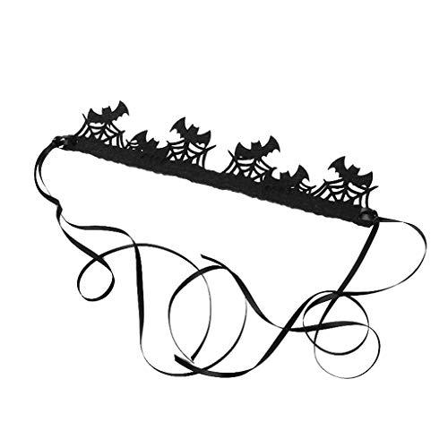 JOYKK Femmes Filles Toile D'araignée Bandeau Ruban Élastique Cheveux Halloween Noël Cosplay Festival Partie Casque Décor Fournitures