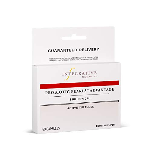 Integrative Therapeutics - Probiotic Pearls Advantage - Lactobacillus and Bifidobacteria Probiotic - Non-Refrigerated Probiotic - Patented True Delivery Technology - 60 Count