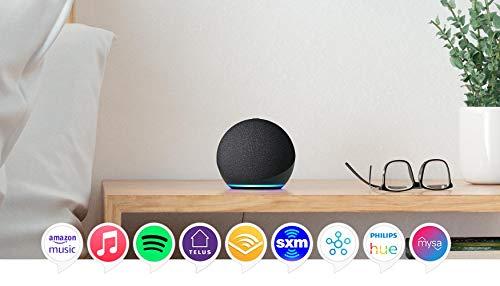All-new Echo Dot (4th Gen) | Smart speaker with Alexa | Charcoal (Electronics)