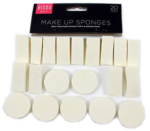Lot de 20 éponges de maquillage