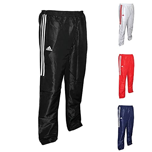 adidas Tracksuit Pantalones, Negro, L, TR-41