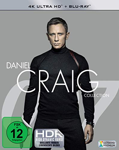 Daniel Craig Collection (4 4K Ultra HD + 4 Blu-ray 2D)