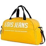 Lois - Bolsa de Deporte Departamento para Zapatos Bandolera Desmontable Ajustable Doble Asa de Mano Ligera Práctica Minimalista y Funcional 307050, Color Amarillo