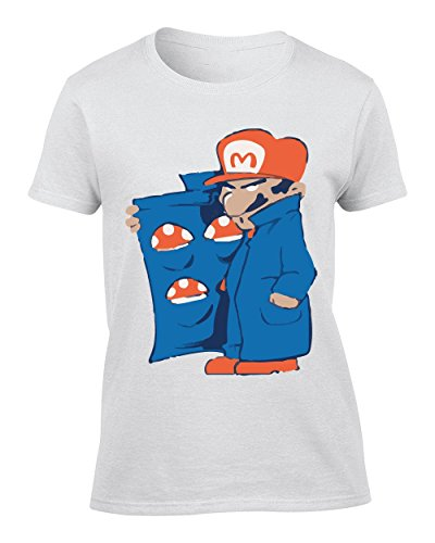 Super Mario Dealer Shrooms - Small Damen T-Shirt