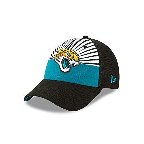 New Era Jacksonville Jaguars 9forty Adjustable Cap Nfl19 Draft Black - One-Size