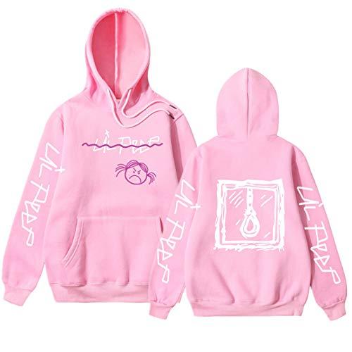 EMPERSTAR Lil Peep Merch Sudadera con Capucha Chaqueta Suelta Ocio Cómodo con Capucha Unisex Lil Peep Baby Sweatshirt Mujeres S