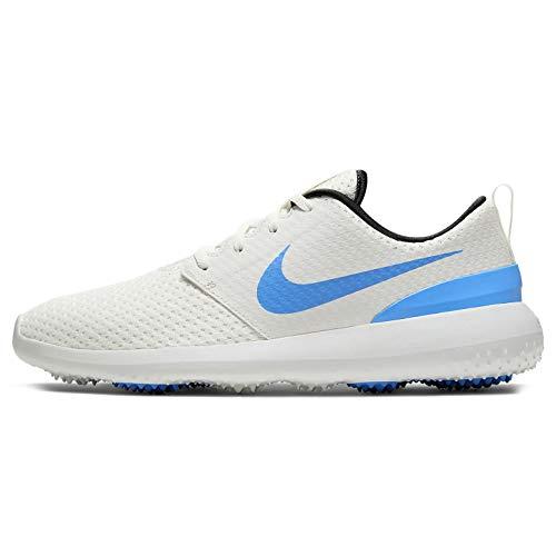 Nike Roshe G Zapatilla de Golf para Hombre (Summit White/University Blue, Numeric_44_Point_5)